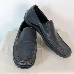 Men's Cole Haan Black Leather Venetian Loafers 12